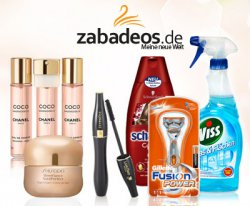 Onlinedrogerie Zabadeos: 35€ Gutschein für 12,90€, z.B. Hugo Boss Parfum für 23,40€ (statt 38€) @dailydeal.de