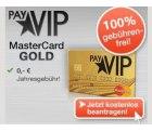 PayVIP Kreditkarte – Dauerhaft kostenlos und 0% Fremdwährungsgebühr + 20 € Amazon Gutschein