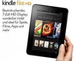 Preissenkung bei Amazon: Das Kindle Fire HD jetzt ab 139€ [vorher: 154€]