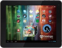 Prestigio MultiPad Ultra 10 Zoll Tablet PC inkl. Ledertasche für 99 Euro (statt 129 Euro Idealo) bei Comtech