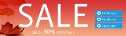Sale mit bis zu 30% Rabatt bei Mirapodo
