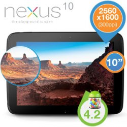Samsung – Google Nexus 10 WiFi 16GB für 335,90€ (Idealo 356,50€) @iBOOD Extra