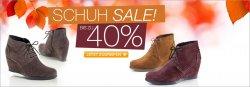 Schuh-Sale bei Wenz, Schuhe bis 40% günstiger, Damenstiefeletten für 29,99 €uro statt 59,99 €uro