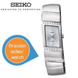 Seiko Armbanduhr für Damen für 99,95 € zzgl. 5,95 € Versand (Idealo 225 €) @iBOOD Extra