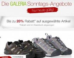 Sonntagsangebote bei Galeria Kaufhof u.a. Rabatt auf Schuhe, Lego und Mascaras