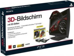 Sony Computer Entertainment 3D Bildschirm + 2x 3D Brillen (inkl. Killzone 3 + Gran Turismo 5) für 256,99 € (Idealo 389,89 €) @Redcoon