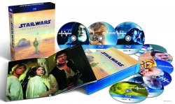 Star Wars: The Complete Saga I-VI auf Bluray z.Z. bei Amazon für 76,97€ Versandkostenfrei