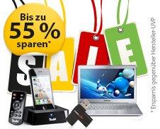 Technik-Sale auf meinpaket.de kurzzeitige Angebote von teufel (bis zu 55% und medion bis zu 24%) + 7% Gutschein