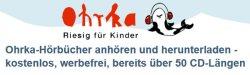 Über 30 Hörbücher für Kinder komplett kostenlos herunterladen @Ohrka.de