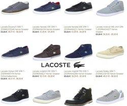 Über 50% auf Lacoste Schuhe bei javari.de z.B. den Lacoste Pedley für nur 46,01€