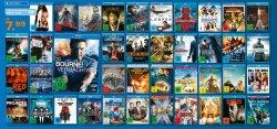 Viele Titel auf Blu-ray für 7,99€: z.B. Der Hobbit, Taken 2, Cloud Atlas [DVDs für 4,99€] @Saturn – Online & Offline