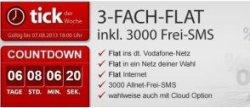 Vodafone 3-fach Flat für nur 2,50€ mtl. statt 19,90€ @eteleon