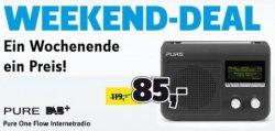 Weekend-Deal bei Conrad: Pure One Flow Internetradio für nur 85€ inkl. Versand