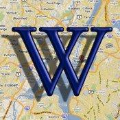 Wikipedia auf der Karte für iOS Geräte kostenlos