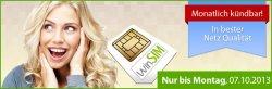 Aktion: Winsim Vertrag für nur 4,95€/Monat, monatlich kündbar, 100Min. telefonieren in alle Netze, 100SMS, 300MB Internetflat