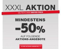 [Lokal] XXXL Aktion: Mindestens -50 Prozent Rabatt! + 250€ Geschenkt ab 1.000€