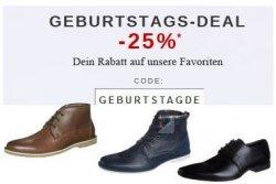 Zalando feiert Geburtstag – 25% Rabatt auf über 500 Schuhmodelle für Damen & Herren mit Gutscheincode (100€ MBW!)