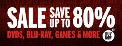 Zavvi – 80% Rabatt auf  DVD,Blu-ray Games and more und zusätzlich ein 10% Gutschein
