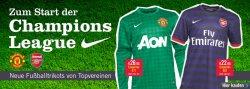 Zum Start der Champions League – Neue Fußballtrikots ab 22,95 €  @MandMdirect