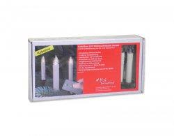 10 LED kabellose Christbaumkerzen mit Fernbedienung und Batterien für 14,95€ @meinpaket