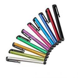 10er Set Eingabestifte in verschiedenen Farben für Smartphones / Tablets nur 1,- € (0,10/Stück!kostenloser Versand@ebay.de)