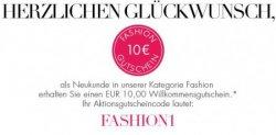 10€ Neukunden-Gutschein auf Fashion bei Amazon – gilt noch bis Sonntag