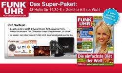 13 Hefte Funkuhr für 14,30€ rein rechnerich mit 0,70cent Gewinn dank 15€ Gutschein @magclub.de