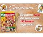 1x Tvdirekt komplett Gratis Kochmagazin mit 150 Rezepten@gong-verlag.de