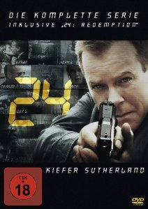 24 – Die komplette Serie inklusive 24: Redemption [49 DVDs] 54,97inkl.Versandkosten@amazon.de