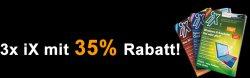 3 Ausgaben IX  für 12,50€ mit 35% Rabatt @commundia.de