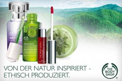 35 € The Body Shop Gutschein für 17,50 € (-50%) @GROUPON