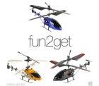 3x verschiedene Modelle fun2get RC mini Hubschrauber 14-21 cm 3 Kanal Helikopter ferngesteuert Heli statt UVP 39,99€ für 9,99€kostenloser Versand@ebay.de