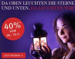 40% Gutschein auf Schuhe bei schuhtempel24.de ohne MBW