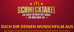 5 Filme GRATIS als Download bei Mc Donalds @schmecktakel-film.de