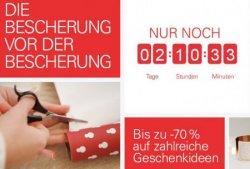 5 Wochenende lang: ebay Wochenendbescherung Markenartikel bis zu 70% reduziert