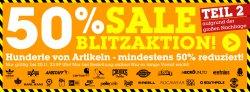 50% Sale Blitzaktion bei MZEE – Versandkostenfrei – z.B. Adidas Ciero M nur 30€!