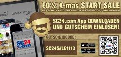 60% auf alle Markensport-Artikel @SC24.com App