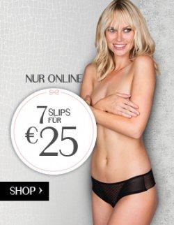 7 sexy Slips für zusammen 25€ @Hunkemöller