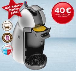 [Lokal] ab 2.12.2013 bei Penny De Longhi Dolce Gusto Piccolo – Kapsel-Kaffeemaschine für 19,99€ @penny