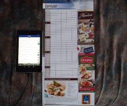 [Lokal @ALDI SÜD] ab 11.11 Kostenloser Familienkalender