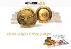 Amazon Coins jetzt auch in Deutschland – Zur Einführung bis zu 10% Rabatt