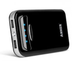 Anker Astro E5 15000mAh Dual mobiles Ladegerät für iOS, Android Geräte, GoPro etc. für nur 32,99€ mit Gutschein bei Amazon