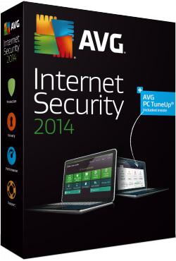 AVG Internet Security 2014 (33,96 Euro) + Antivirus Pro 2014 (25,45 Euro) PC Version GRATIS für 1 Jahr