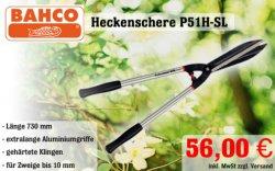BAHCO Heckenscher P51H-SL für nur 56€ @svh24.de