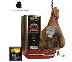 Bei iBOOD: Jamon Serrano Curado ± 7 kg + 300g Chorizo + 500ml Olivenöl für nur 59,95€ – lecker!