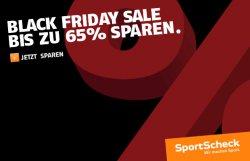 Bis zu 64% Rabatt im Black Friday Sale von Sportcheck