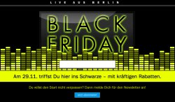 Black Friday bei Teufel