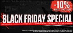 Black Friday im DefShop –  10% Zusatzrabatt