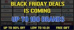 Black Friday jeden Tag neue Deals bis zu 90% Rabatt sowie Artikel für $0,01 @geekbuying.com