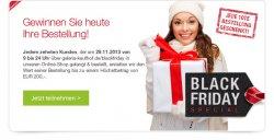 Black Friday Special @ Galeria Kaufhof, jede 10 te Bestellung geschenkt, nur heute von 09:00 – 24:00 Uhr